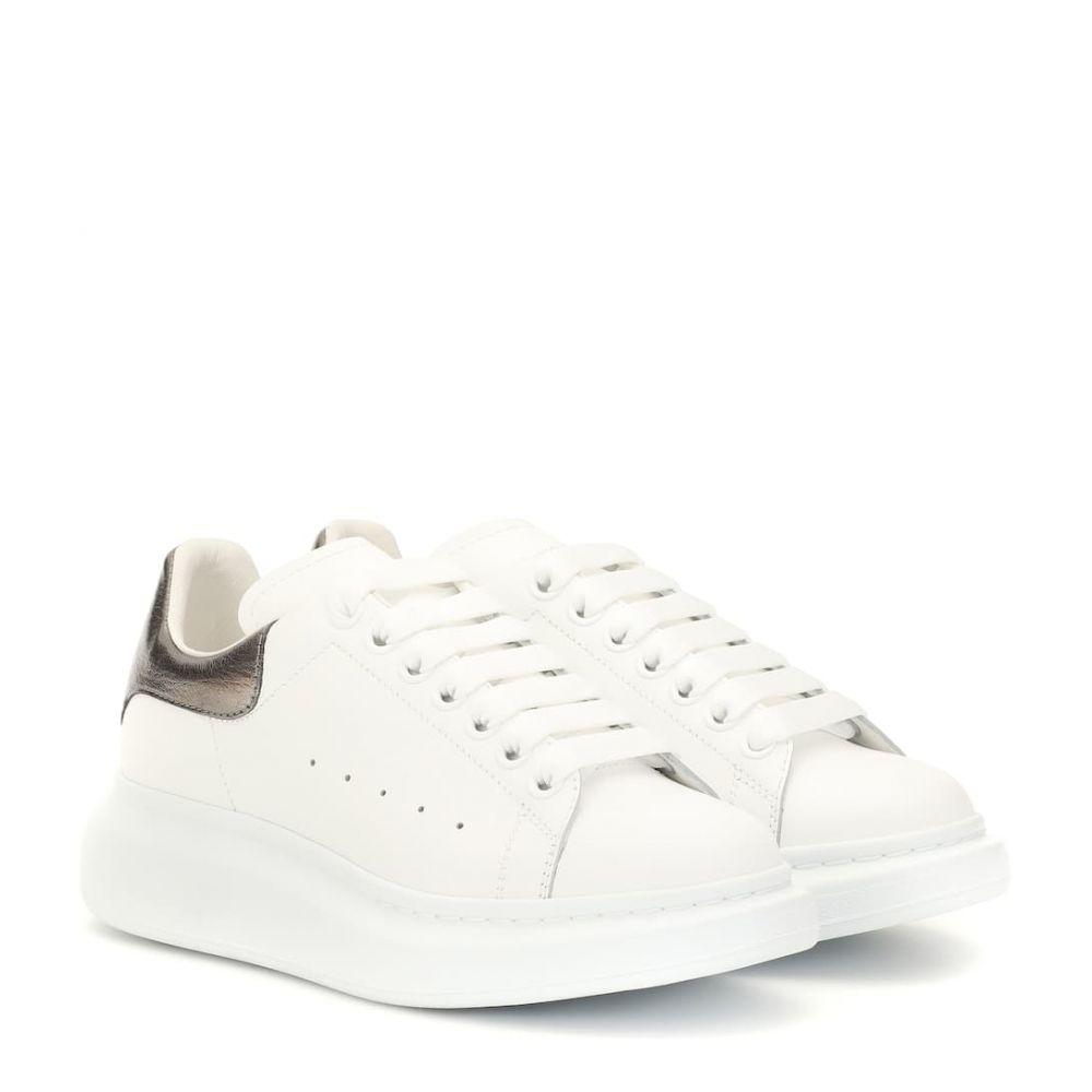 アレキサンダー マックイーン Alexander McQueen レディース シューズ・靴 スニーカー【Leather sneakers】White Blk Pearl