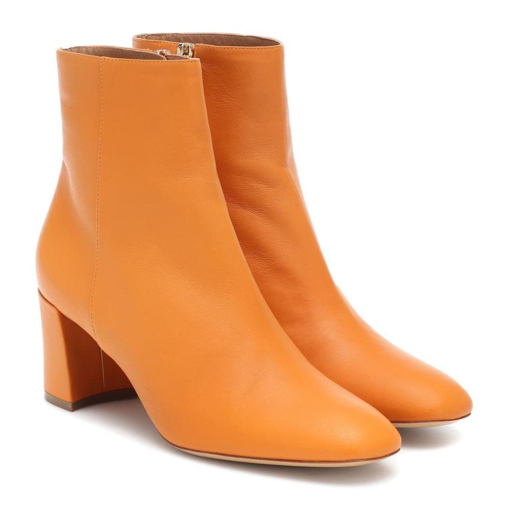マンサーガブリエル Mansur Gavriel レディース シューズ・靴 ブーツ【Leather ankle boots】Yellow Camel