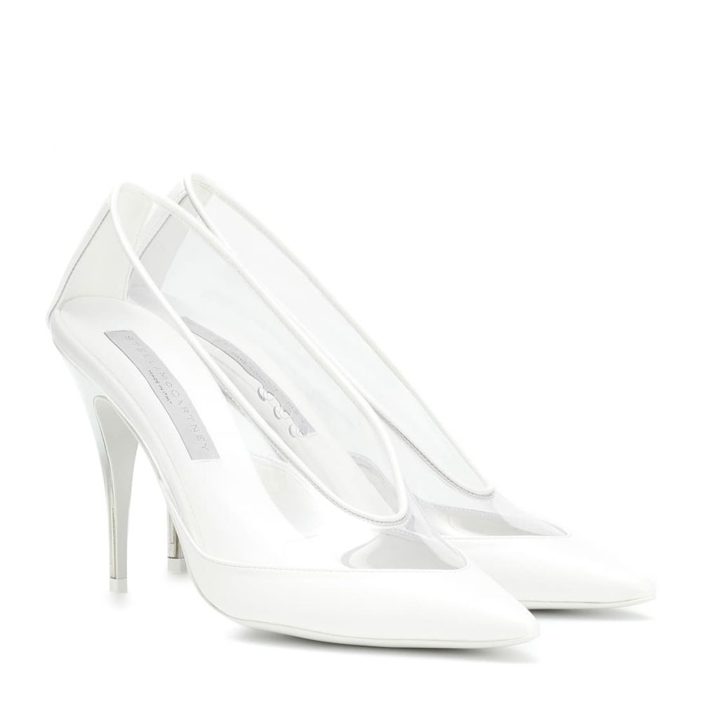 ステラ マッカートニー Stella McCartney レディース シューズ・靴 パンプス【Transparent pumps】White Transparent
