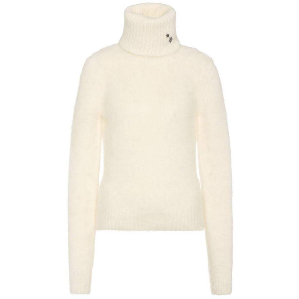 イヴ サンローラン Saint Laurent レディース トップス ニット・セーター【Mohair and wool-blend sweater】Naturel