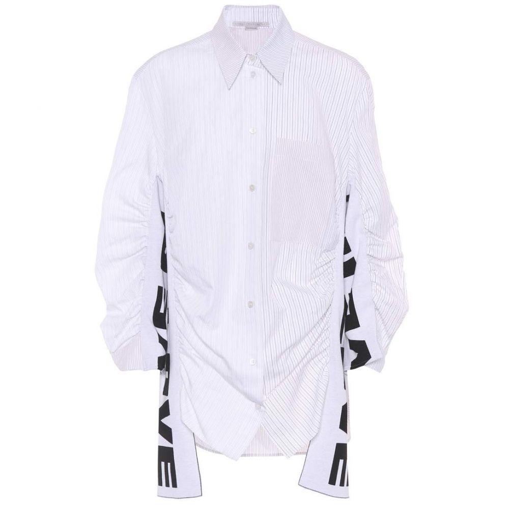 ステラ マッカートニー Stella McCartney レディース トップス ブラウス・シャツ【Zoe All Is Love cotton-blend shirt】Natural