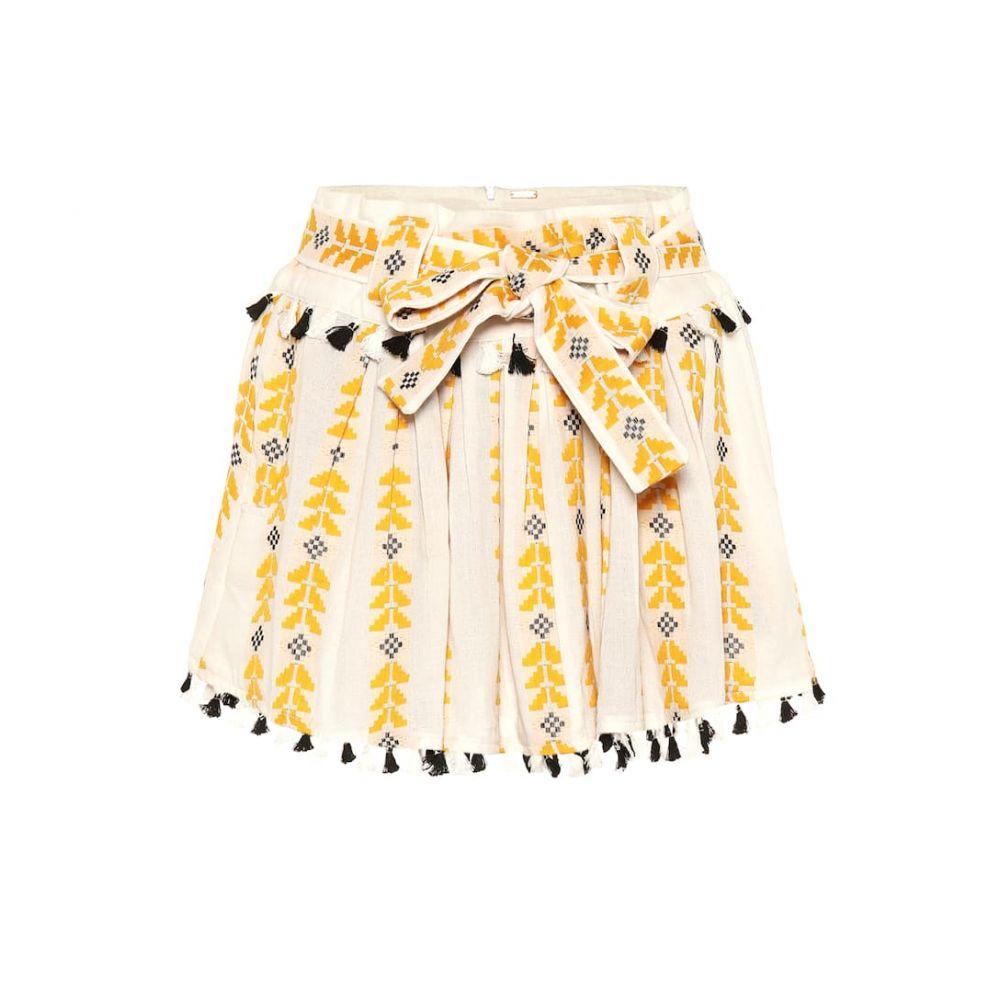 ドド バー オア Dodo Bar Or レディース スカート ミニスカート【Embroidered cotton skirt】Mustered