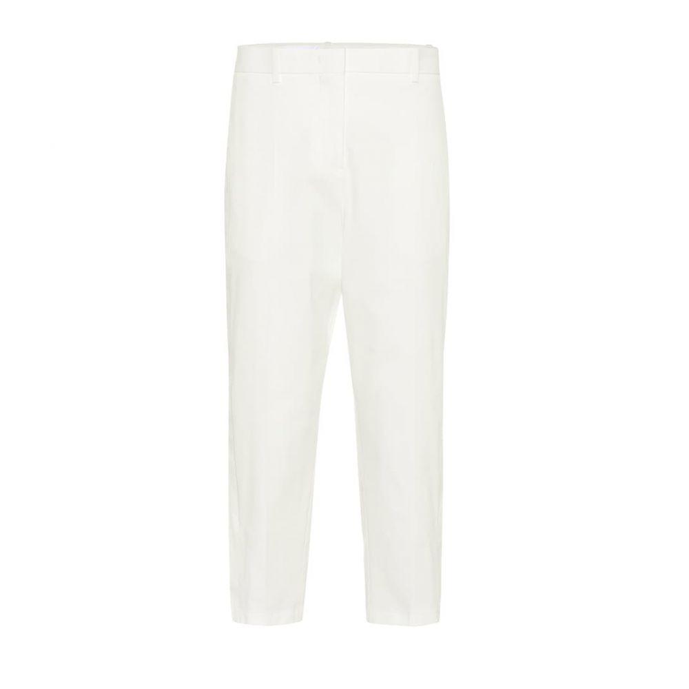ジル サンダー Jil Sander レディース ボトムス・パンツ クロップド【Cropped cotton twill pants】Natural
