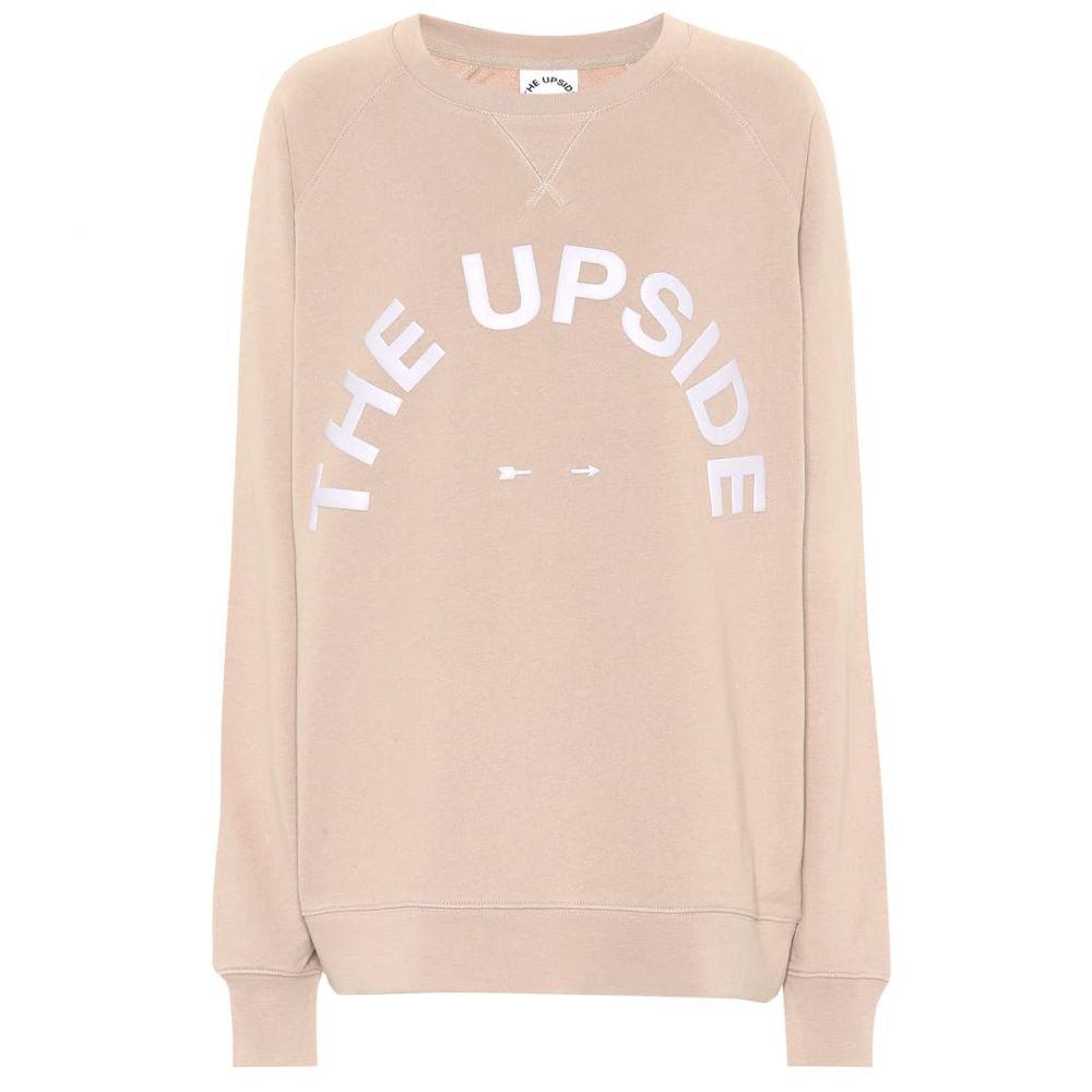 ジアップサイド The Upside レディース トップス スウェット・トレーナー【Sid cotton jersey sweatshirt】Mushroom