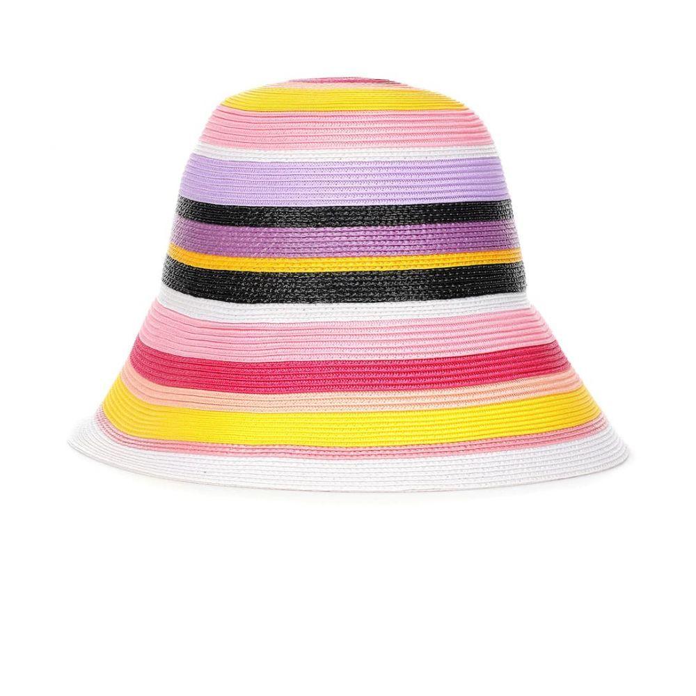 エミリオ プッチ Emilio Pucci レディース 帽子【Striped hat】multicolor giallo
