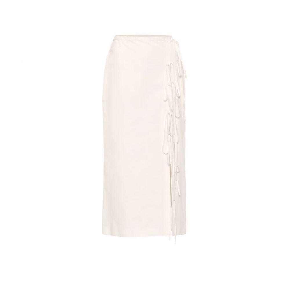 ブロック コレクション Brock Collection レディース スカート ひざ丈スカート【Oleandro cotton midi skirt】Natural