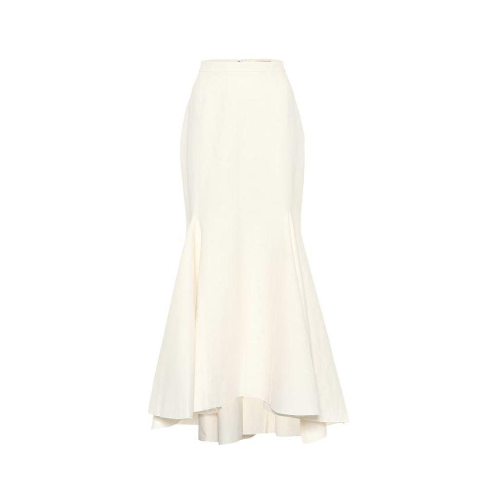 ブロック コレクション Brock Collection レディース スカート ロング・マキシ丈スカート【Occupation cotton and linen skirt】Natural