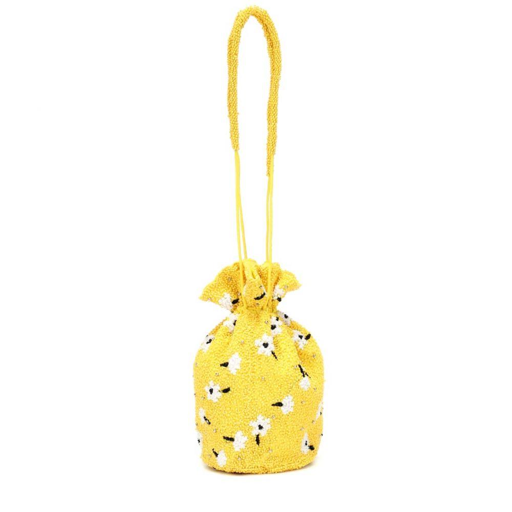 ガニー Ganni レディース バッグ ショルダーバッグ【Beaded shoulder bag】Minion Yellow