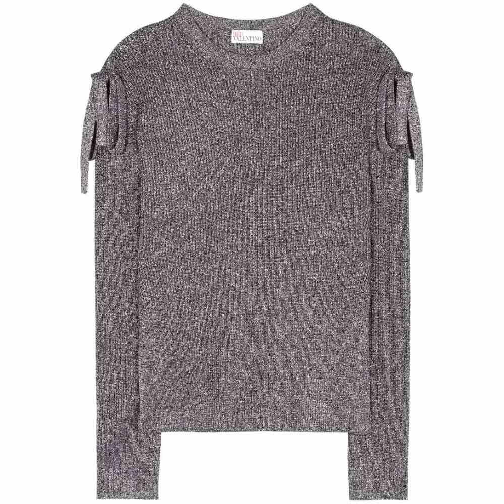 レッド ヴァレンティノ REDValentino レディース トップス ニット・セーター【Metallic lame sweater】METALLIC