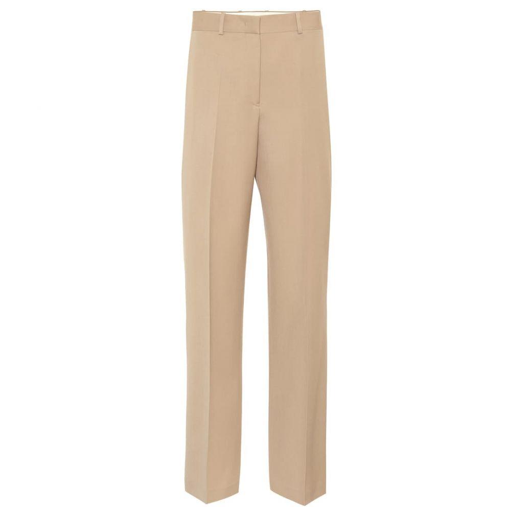 ジル サンダー Jil Sander レディース ボトムス・パンツ【High-rise wide-leg wool pants】Medium Beige