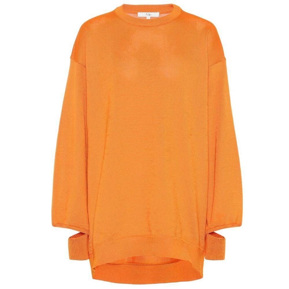 ティビ Tibi レディース トップス ニット・セーター【Knitted sweater】Marmalade