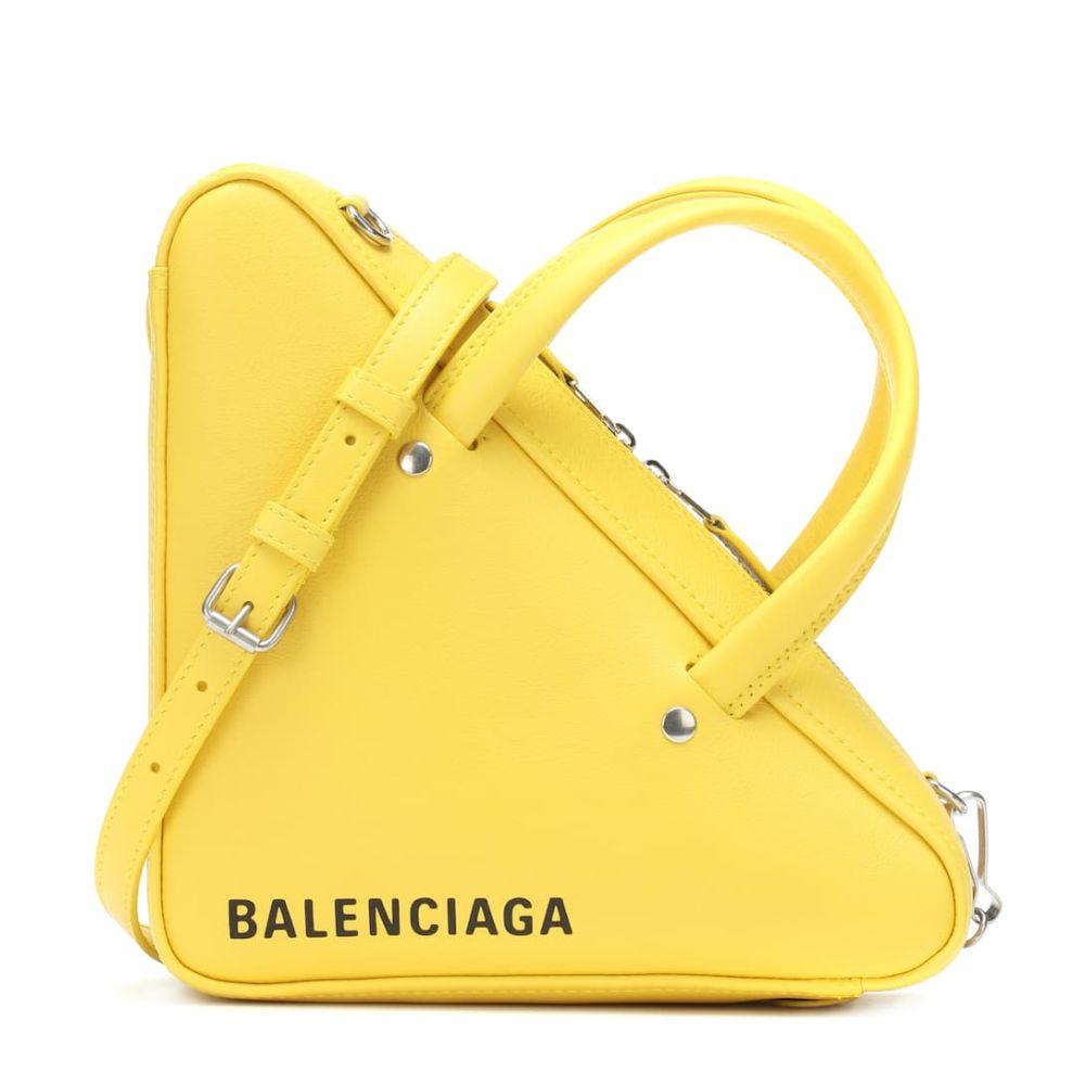 バレンシアガ Balenciaga レディース バッグ トートバッグ【Triangle Duffle XS leather tote】Jaune/L Noir