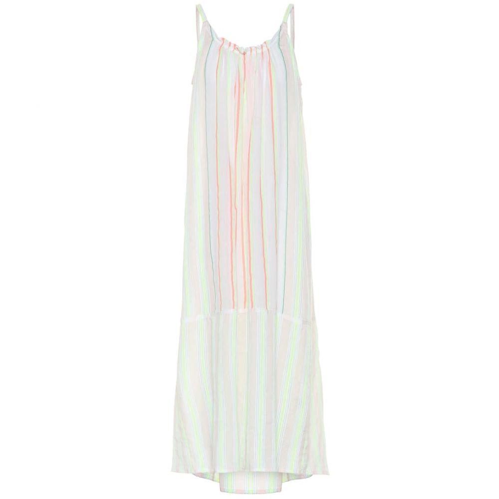 レムレム Lemlem レディース ワンピース・ドレス ワンピース【Selata striped cotton-blend dress】lemon