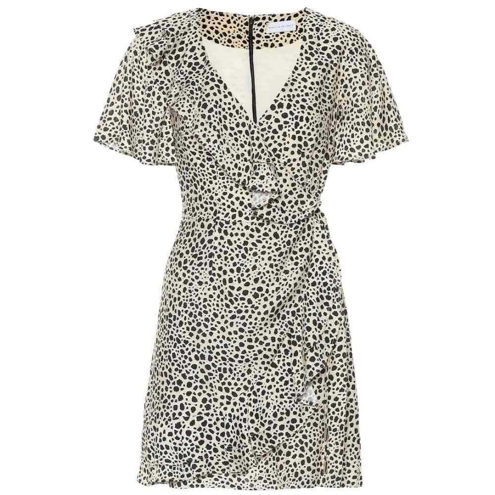 レベッカ ヴァランス Rebecca Vallance レディース ワンピース・ドレス ワンピース【Anya leopard wrap dress】Leopard Print