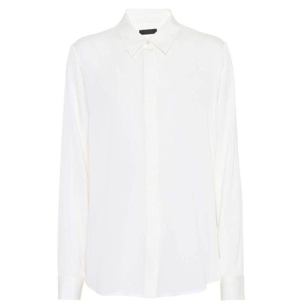 ザ ロウ The Row レディース トップス ブラウス・シャツ【Petah silk shirt】Ivory