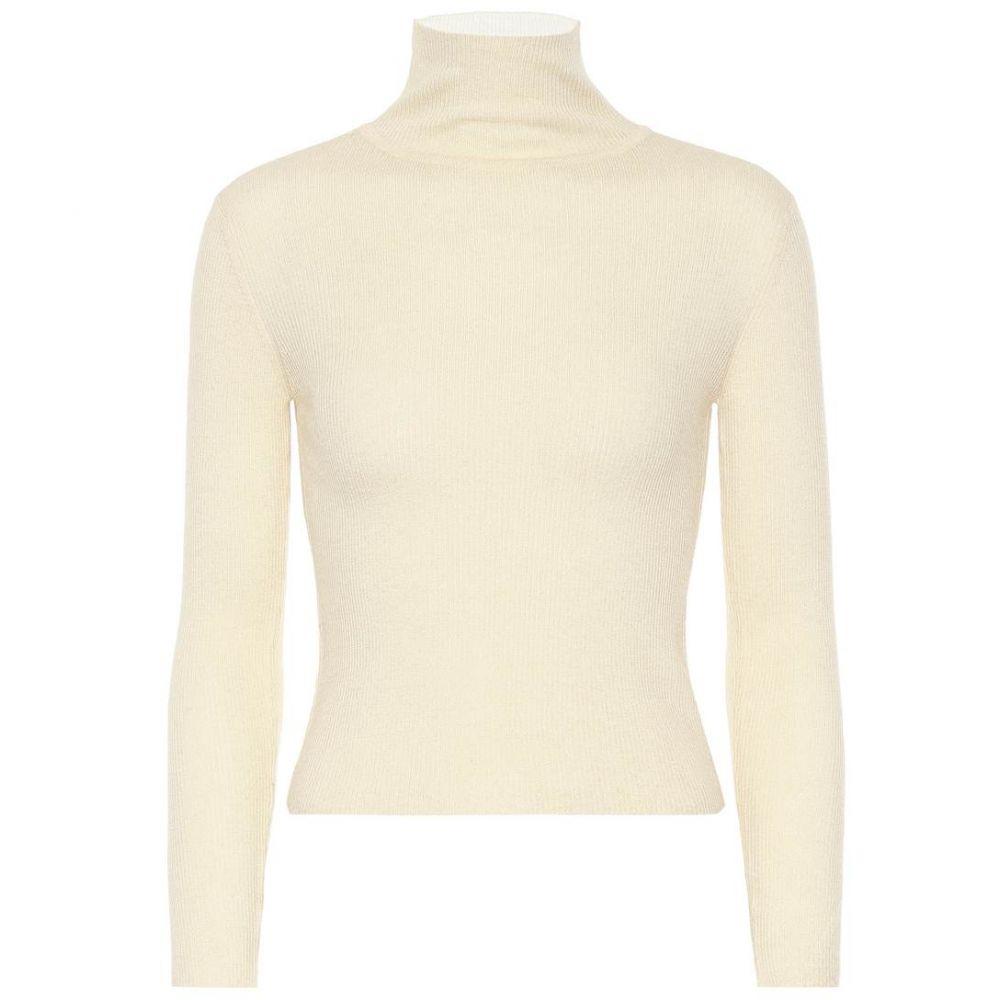 ライアンロッシュ Ryan Roche レディース トップス ニット・セーター【Turtleneck cashmere sweater】Ivory