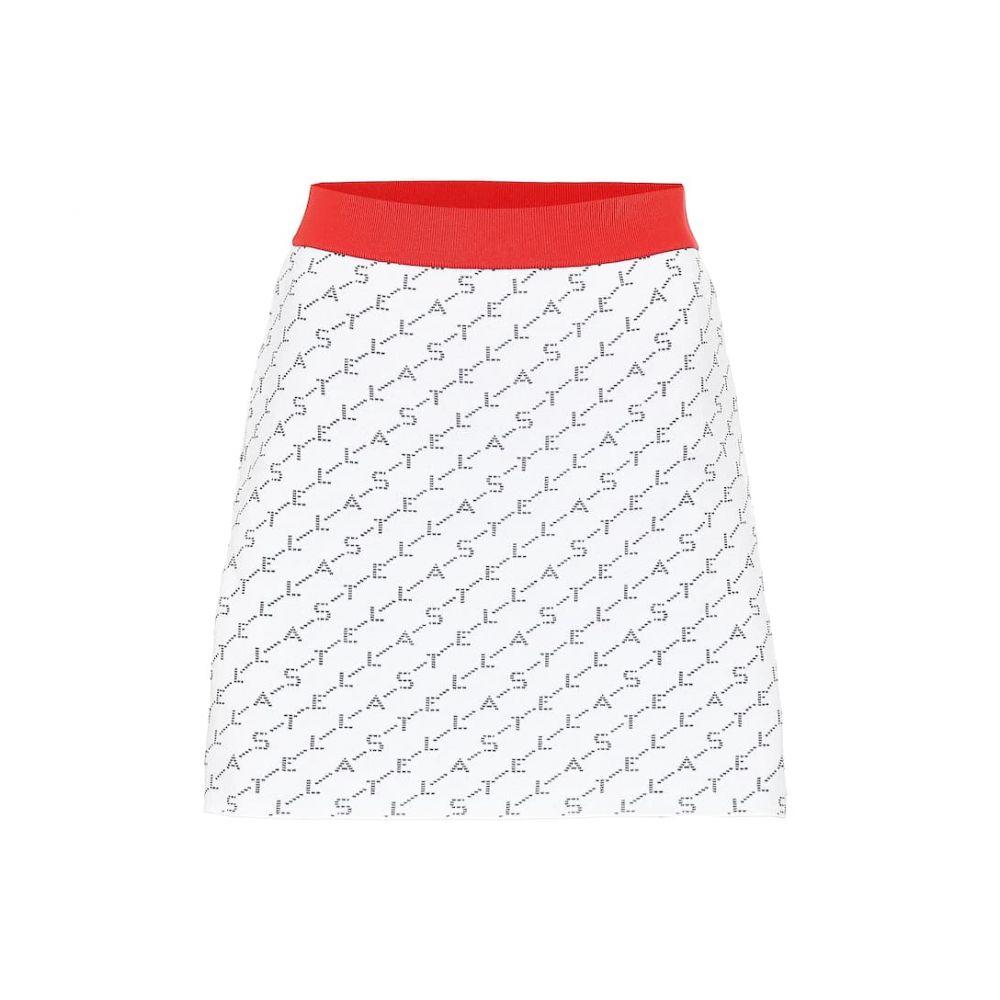 ステラ マッカートニー Stella McCartney レディース スカート ミニスカート【Stretch jersey miniskirt】ivory