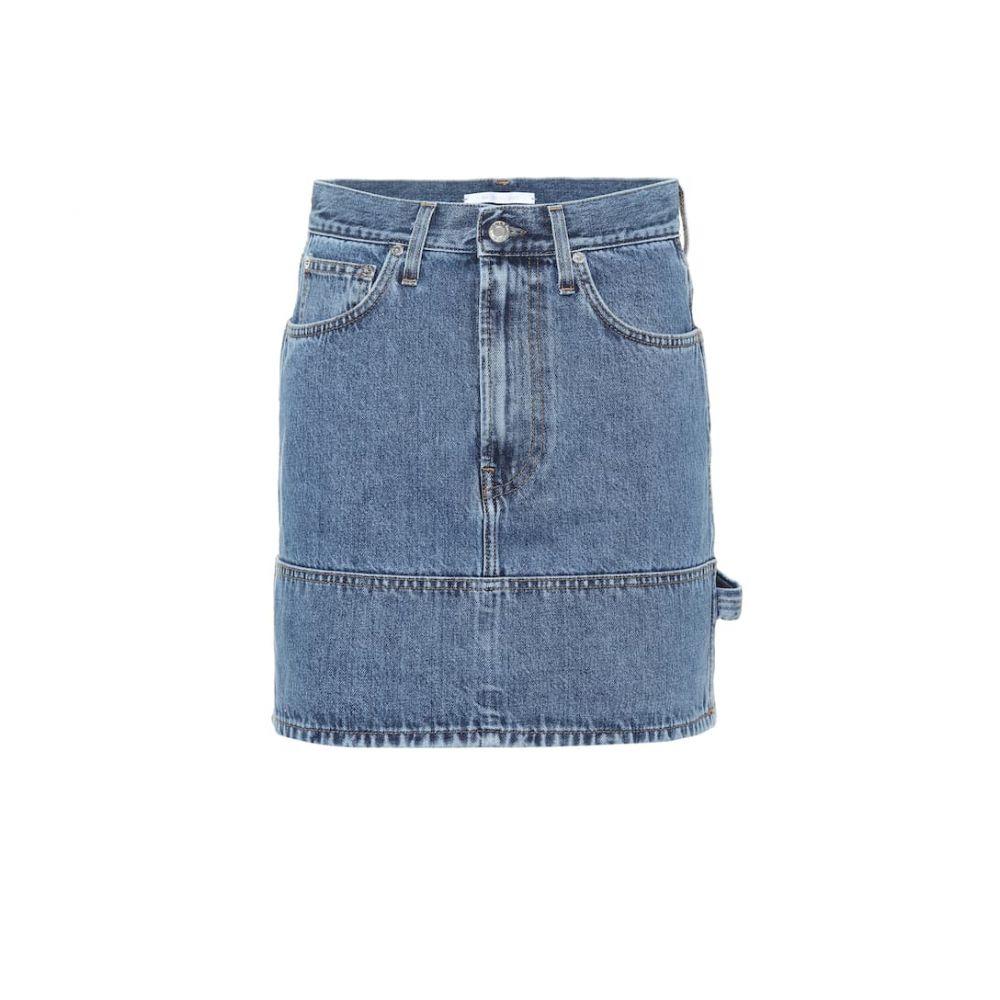 ヘルムート ラング Helmut Lang レディース スカート ミニスカート【Denim miniskirt】Indigo