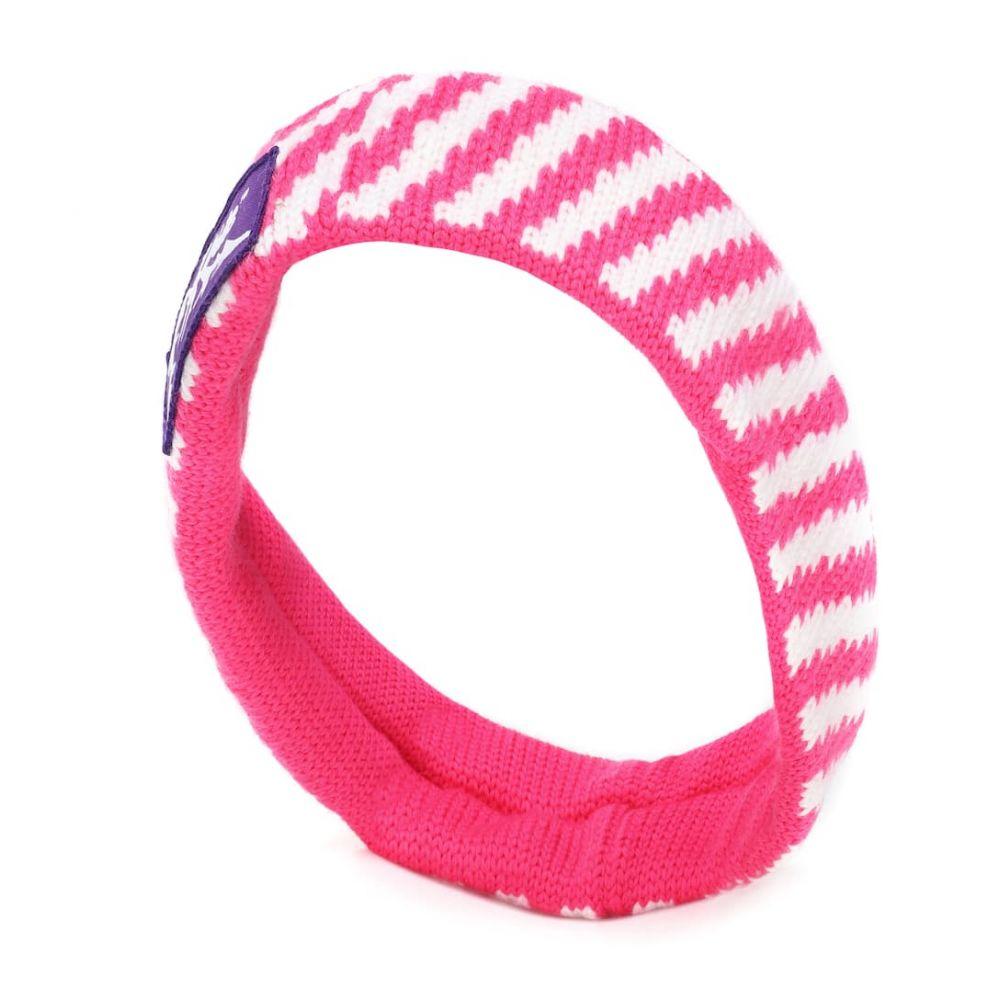 オフ-ホワイト Off-White レディース ヘアアクセサリー【wool headband】Fuchsia White