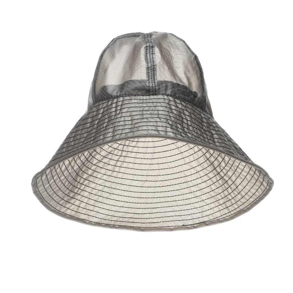 メゾンミッシェル Maison Michel レディース 帽子 ハット【Julianne wide-brim hat】Grey