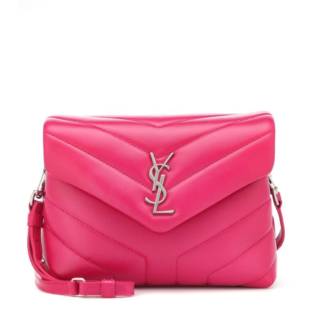 イヴ サンローラン Saint Laurent レディース バッグ ショルダーバッグ【Mini Loulou leather shoulder bag】Freesia
