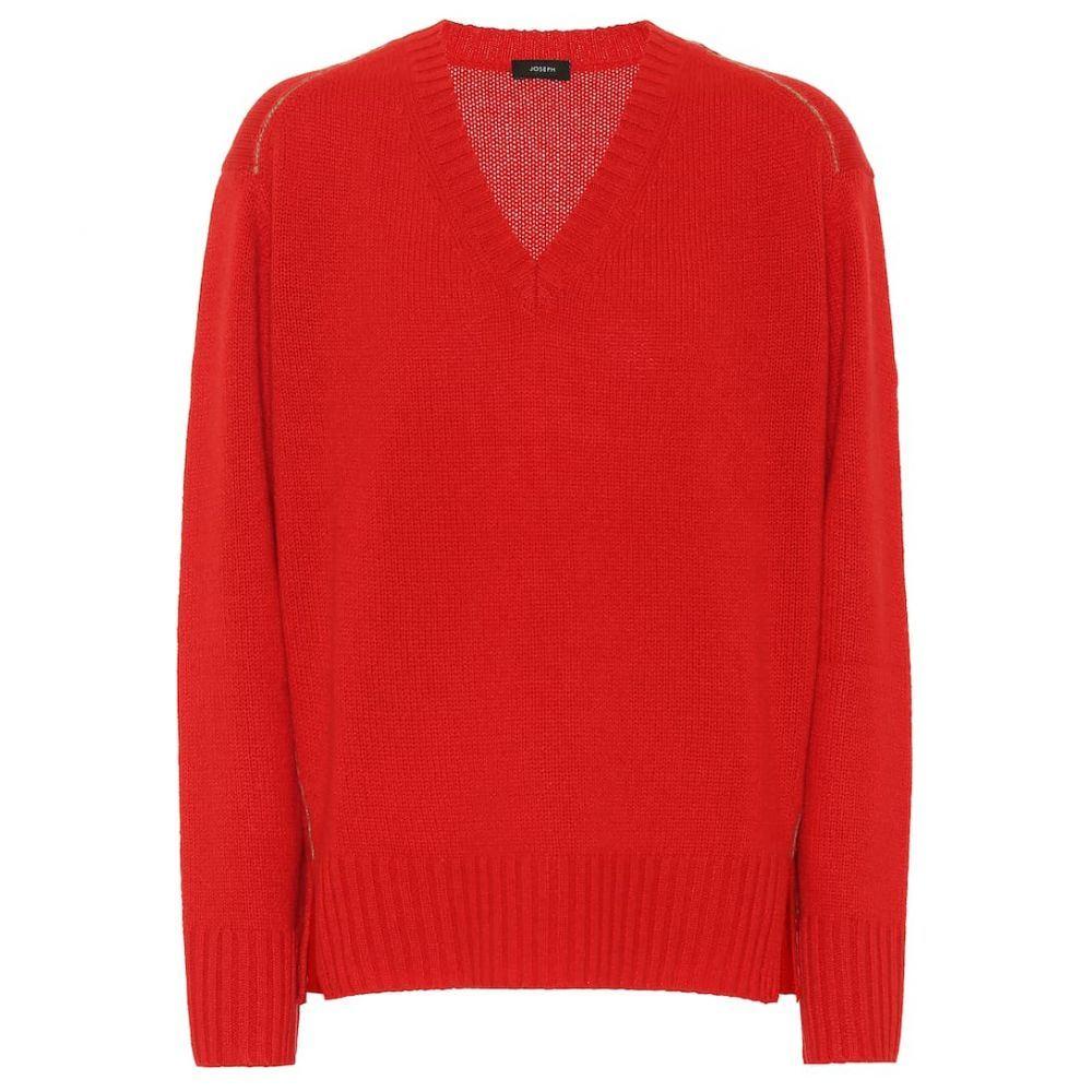 ジョゼフ Joseph レディース トップス ニット・セーター【Cashmere sweater】fire