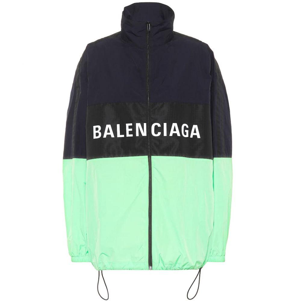 バレンシアガ Balenciaga レディース アウター レインコート【Printed rain jacket】Fluo Green