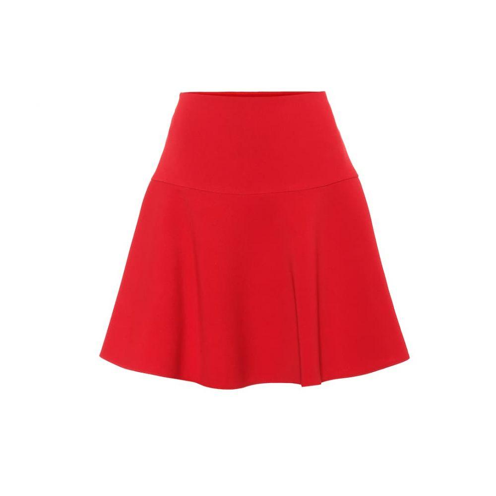 レッド ヴァレンティノ REDValentino レディース スカート ミニスカート【Crepe miniskirt】Deep Red