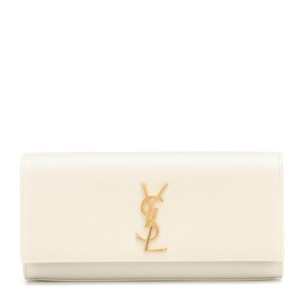 イヴ サンローラン Saint Soft Laurent レディース バッグ クラッチバッグ【Monogram leather leather Laurent clutch】Crema Soft, ESインク:3f73073a --- sunward.msk.ru