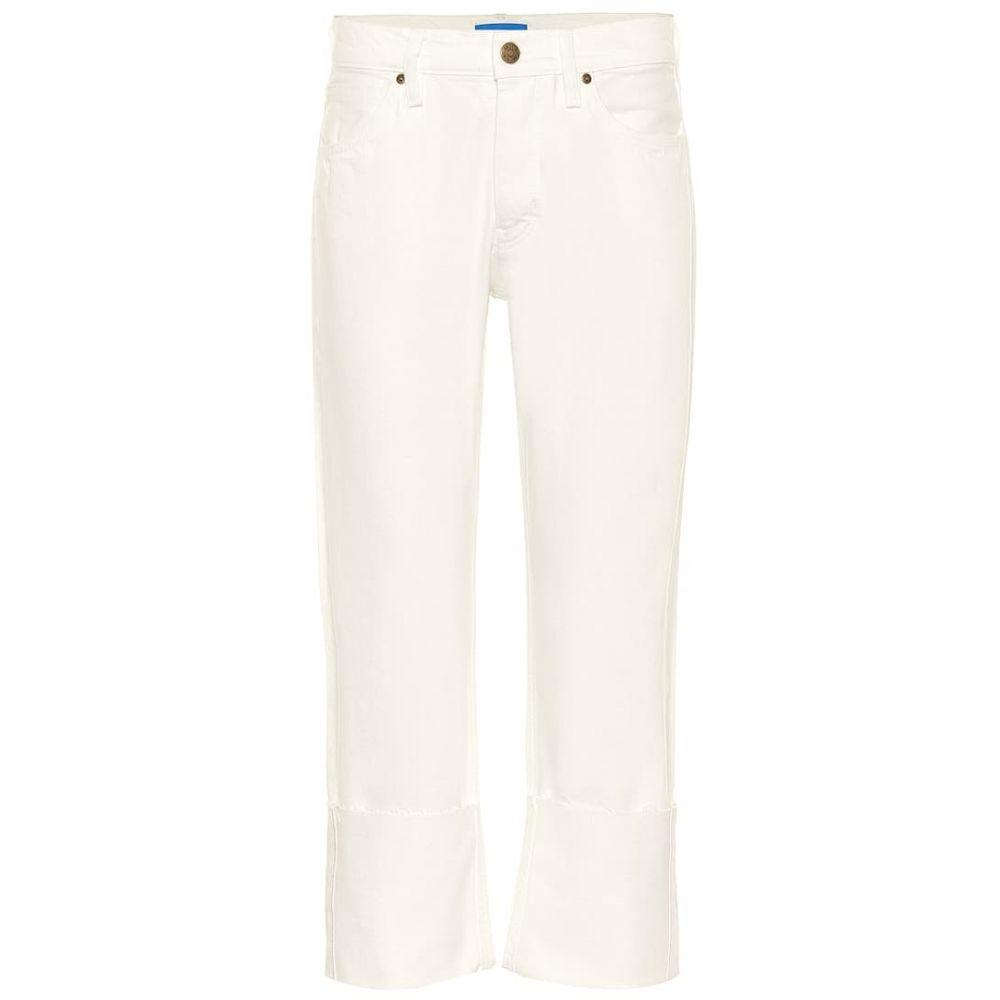 エムアイエイチ M.i.h Jeans レディース ボトムス・パンツ ジーンズ・デニム【Phoebe high-rise wide-leg jeans】chalk