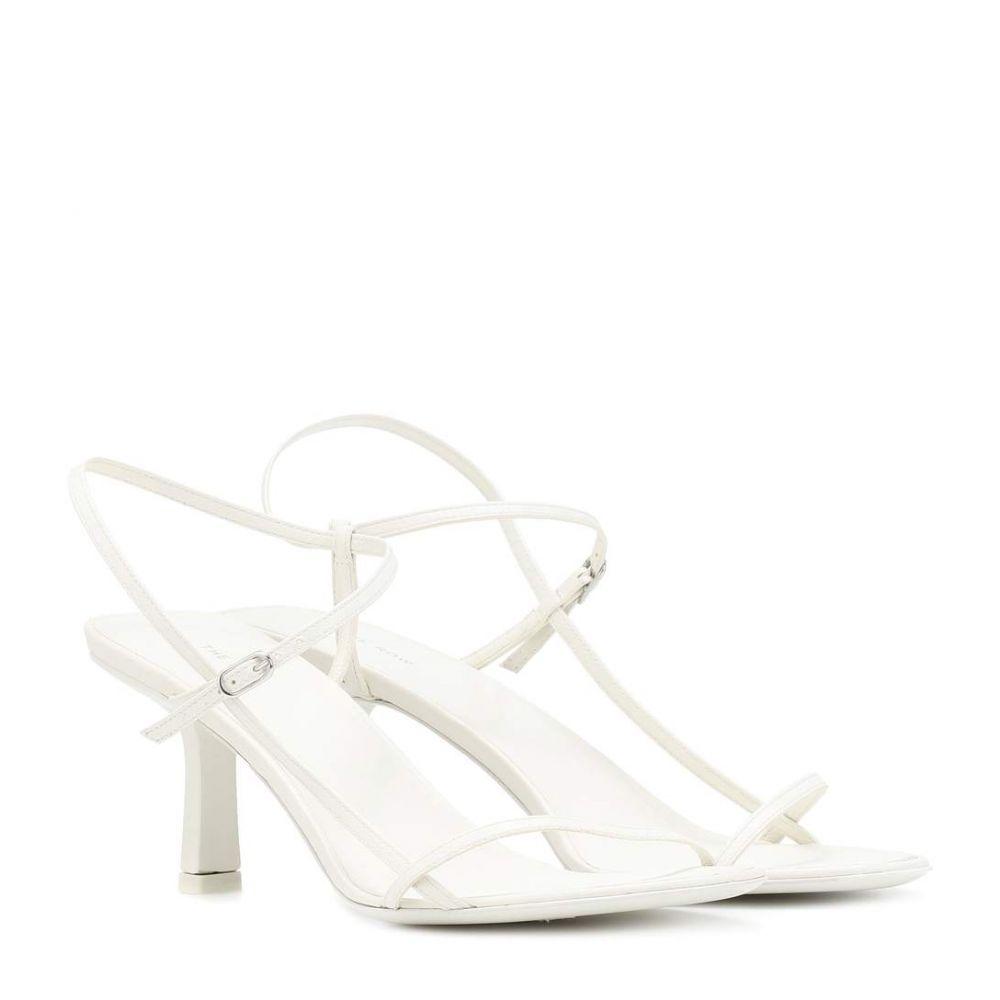 ザ ロウ The Row レディース シューズ・靴 サンダル・ミュール【Bare leather sandals】Bright White