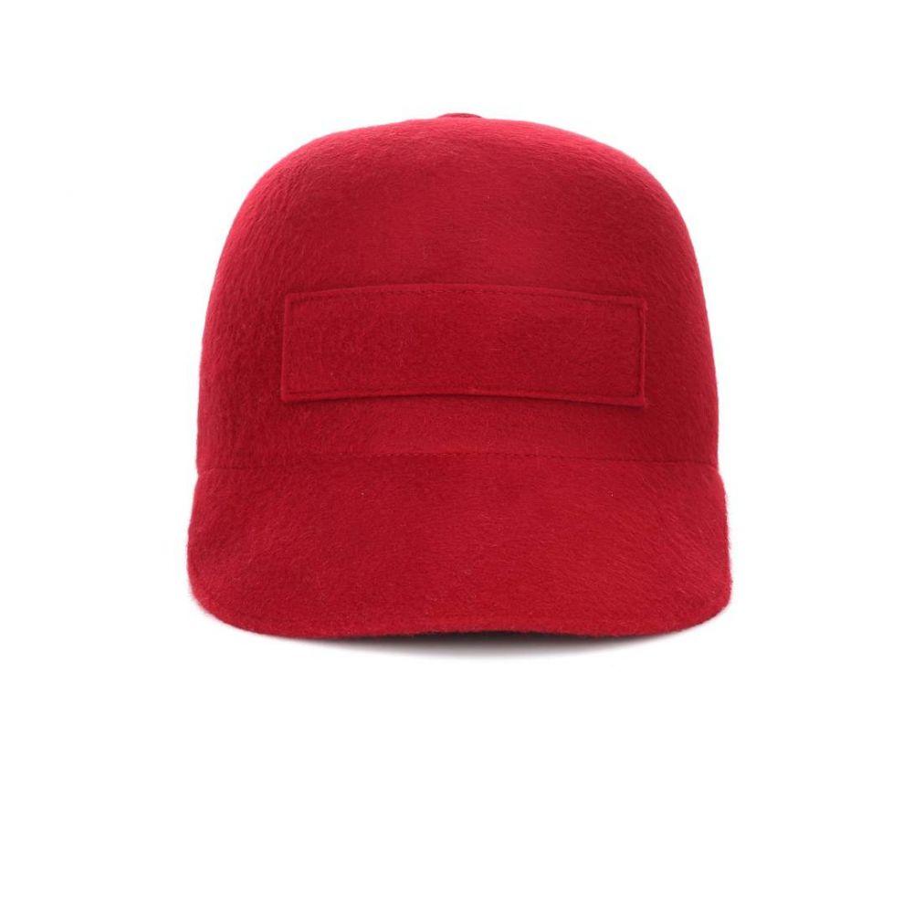 ガブリエラ ハースト Gabriela Hearst レディース 帽子【Cashmere cap】Burgundy
