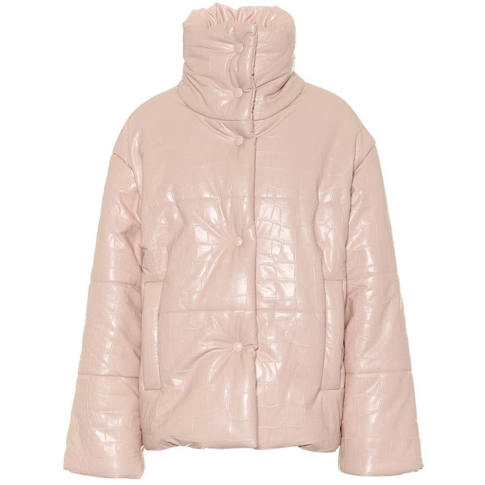ナヌシュカ Nanushka レディース アウター ダウン・中綿ジャケット【Hide faux leather puffer jacket】blush