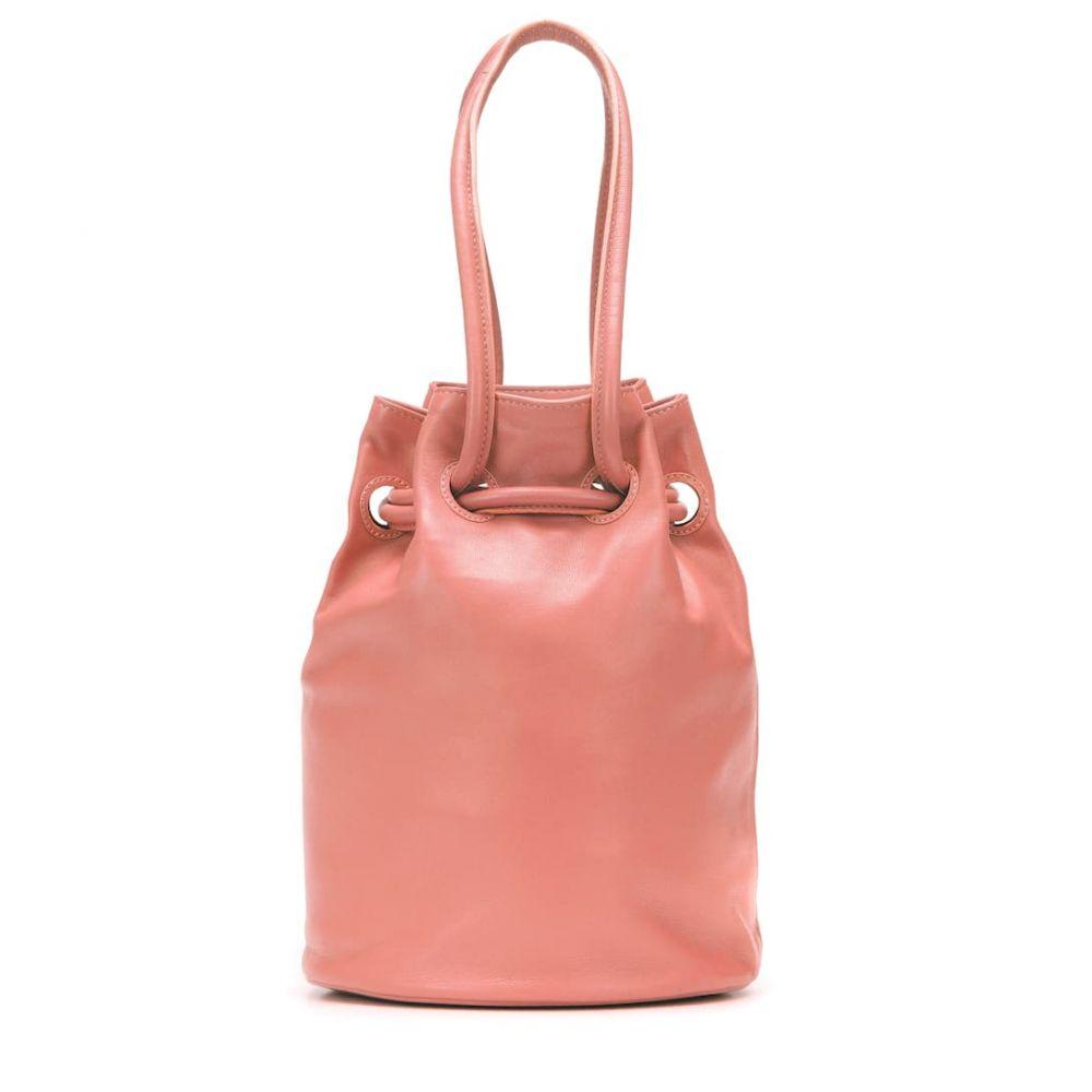 マンサーガブリエル Mansur Gavriel レディース バッグ【Medium leather bucket bag】Blush
