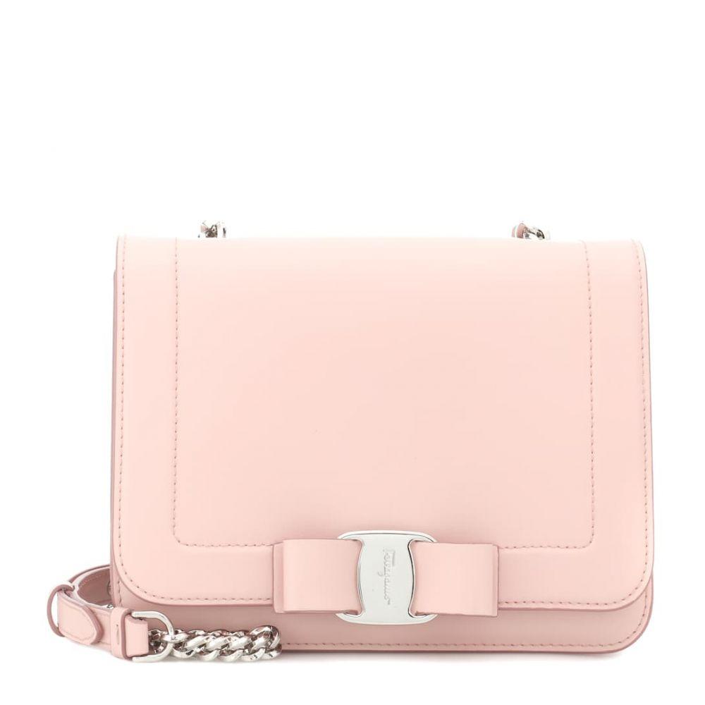 サルヴァトーレ フェラガモ Salvatore Ferragamo レディース バッグ ショルダーバッグ【Vara Small leather shoulder bag】Bon Bon