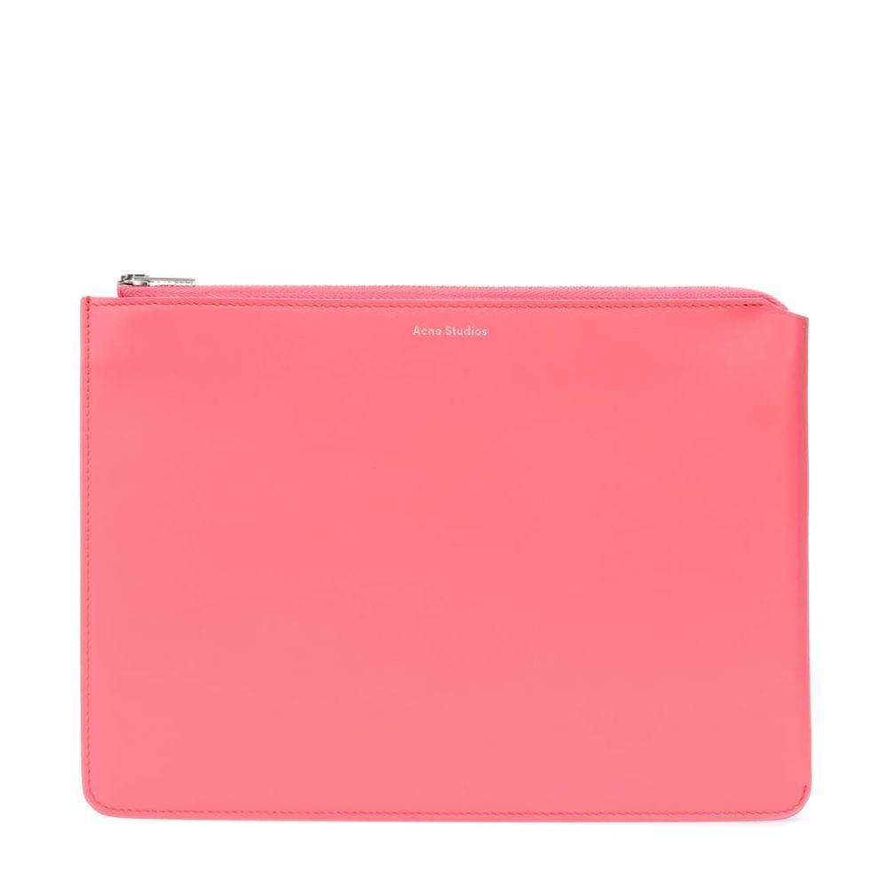 アクネ clutch】Bright ストゥディオズ leather Acne Studios アクネ レディース バッグ クラッチバッグ【Malachite S leather clutch】Bright Pink, 吉敷郡:4bf96c8b --- sunward.msk.ru