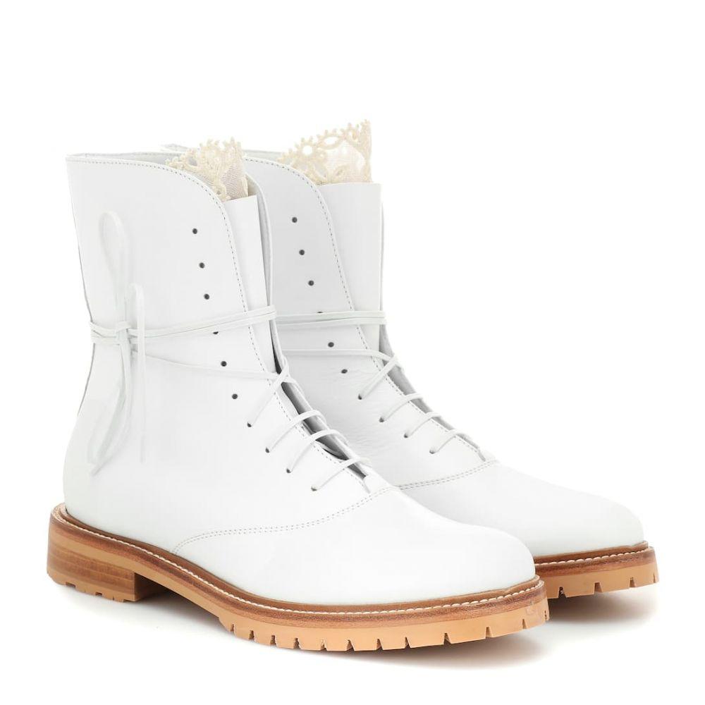 ガブリエラ ハースト Gabriela Hearst レディース シューズ・靴 ブーツ【Ruben leather ankle boots】White