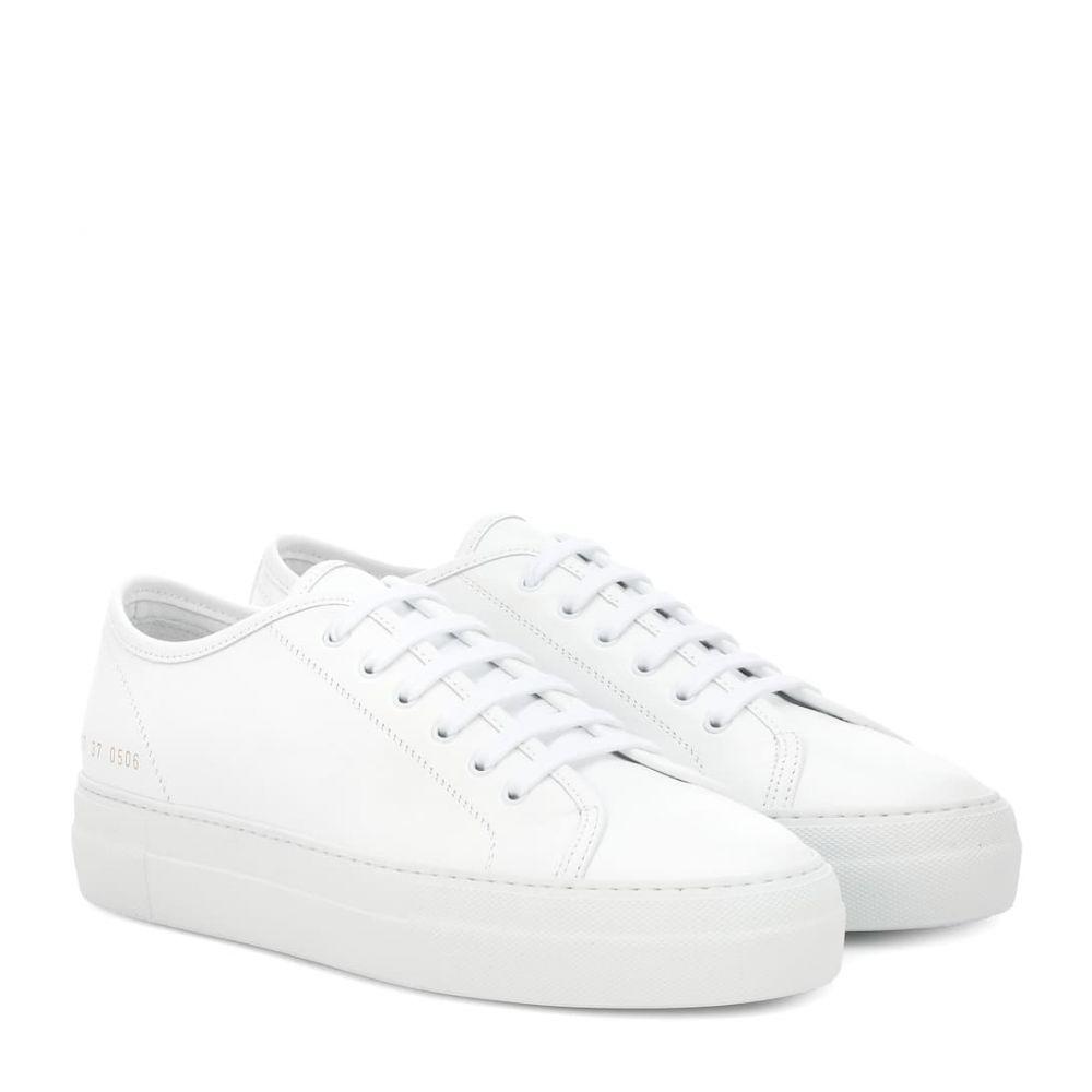 コモン プロジェクト Common Projects レディース シューズ・靴 スニーカー【Tournament Low leather sneakers】white