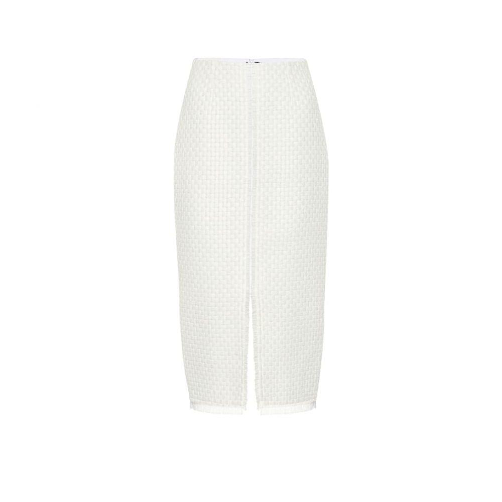 ローラン ムレ Roland Mouret レディース スカート ひざ丈スカート【Turnley wool-blend pencil skirt】White