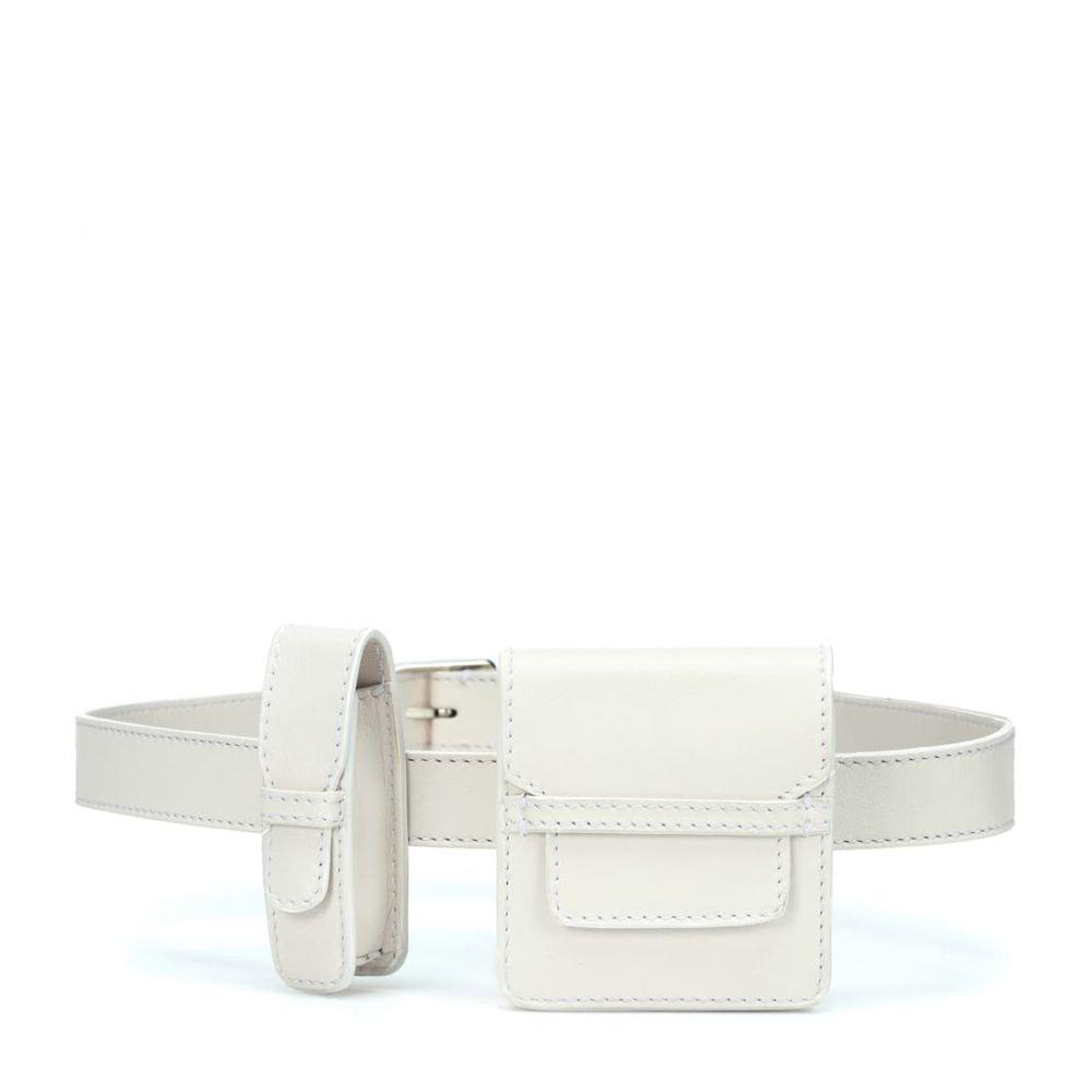 ガブリエラ ハースト Gabriela Hearst レディース バッグ ボディバッグ・ウエストポーチ【Leather belt bag】white