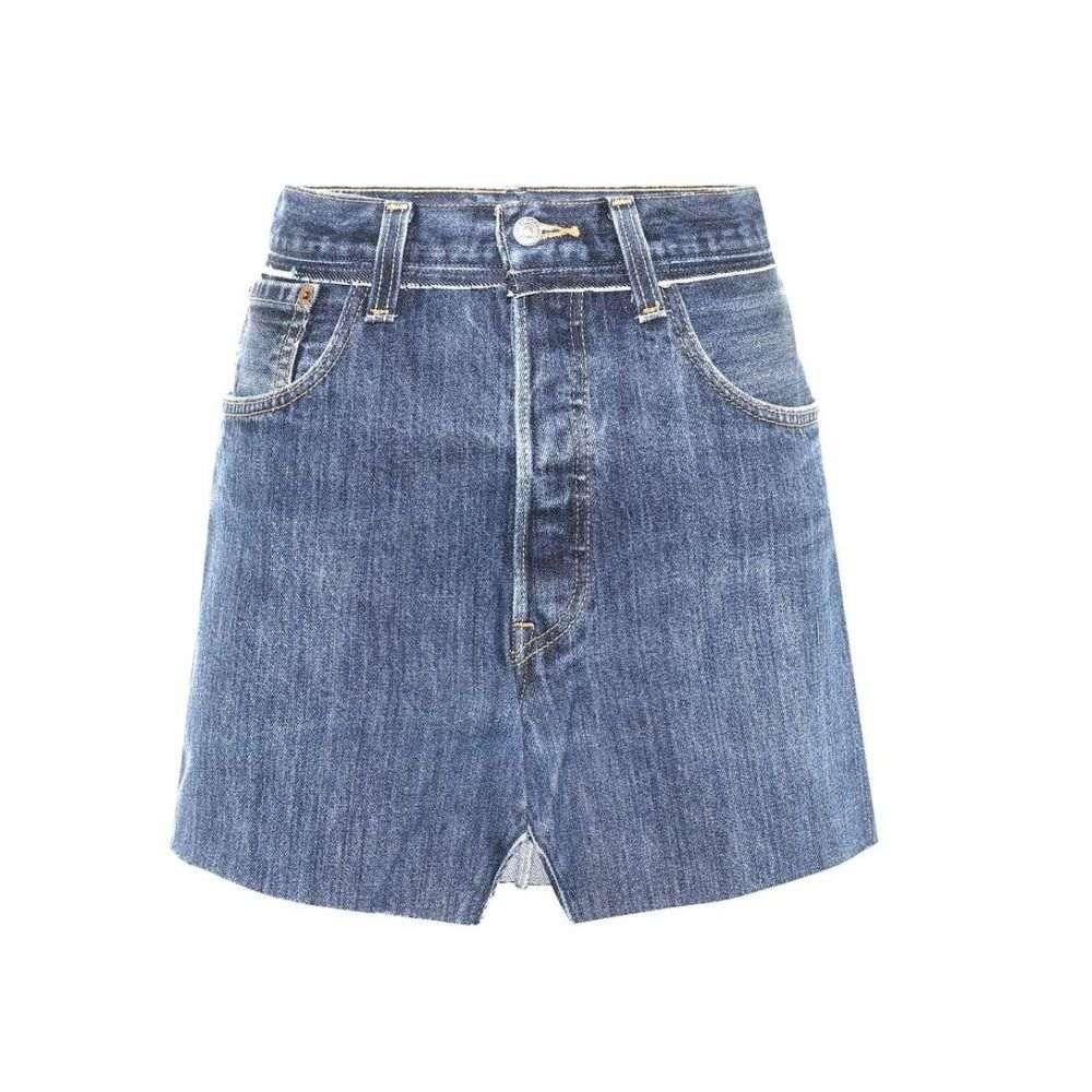 ヴェトモン Vetements レディース スカート【X Levi's denim skirt】Blue