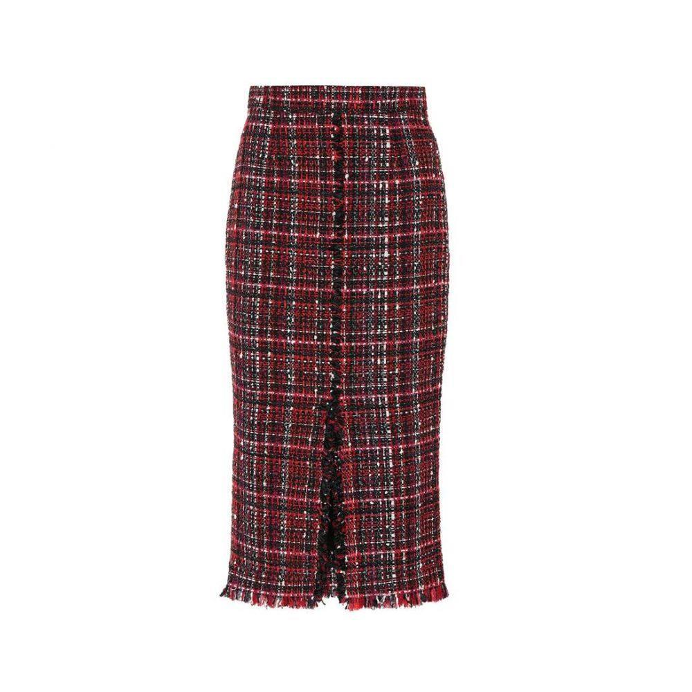 アレキサンダー マックイーン Alexander McQueen レディース スカート【Tweed skirt】Black Mix