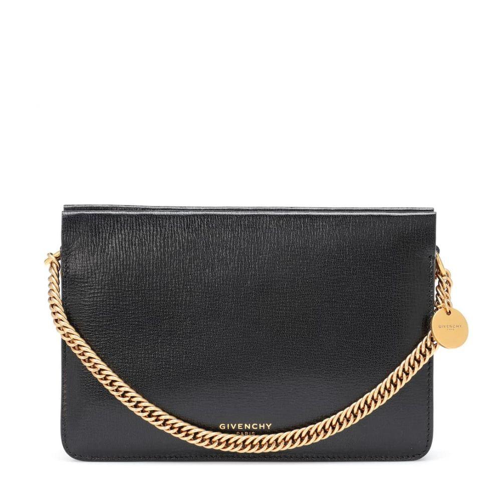ジバンシー Givenchy レディース バッグ ショルダーバッグ【Cross3 leather shoulder bag】Black Chestnut