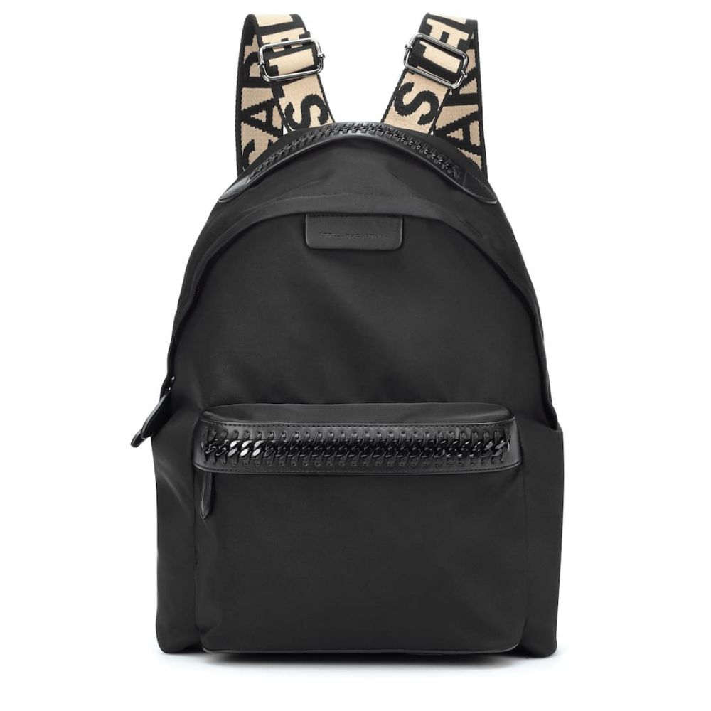 ステラ マッカートニー Stella McCartney レディース バッグ バックパック・リュック【Falabella Go backpack】Black/Black