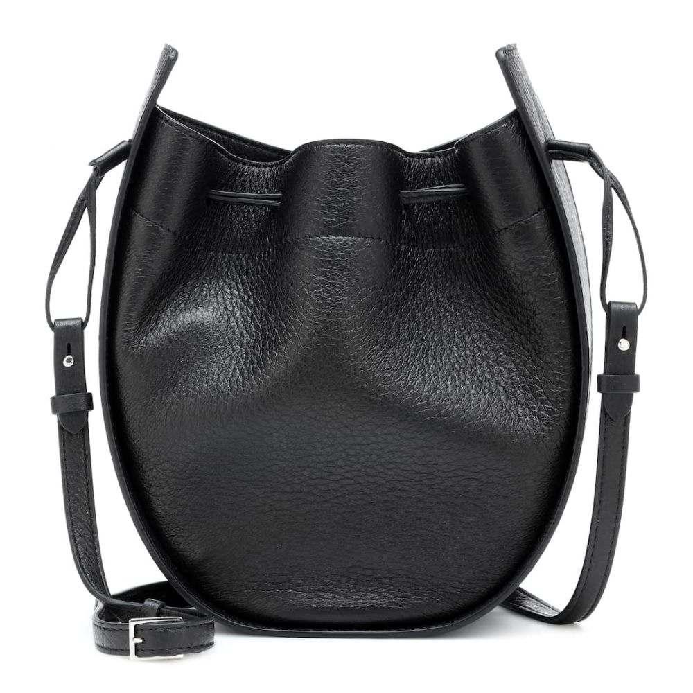 2a2c649b7540 ザ ロウ The Row レディース バッグ ショルダーバッグ【Drawstring leather shoulder bag】Black Pld