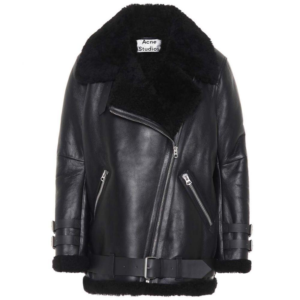 アクネ ストゥディオズ Acne Studios レディース アウター ジャケット【Velocite shearling jacket】Black