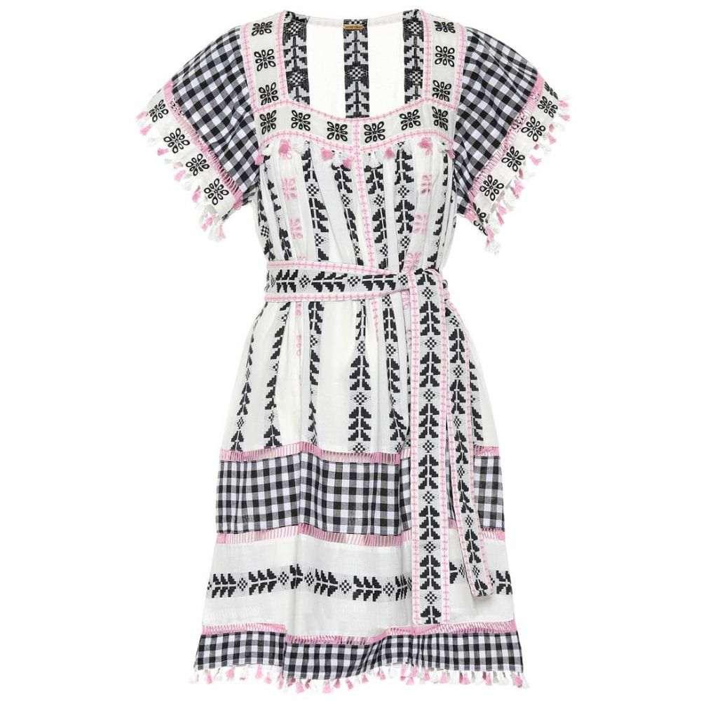 ドド バー オア Dodo Bar Or レディース ワンピース・ドレス ワンピース【Embellished cotton minidress】Black