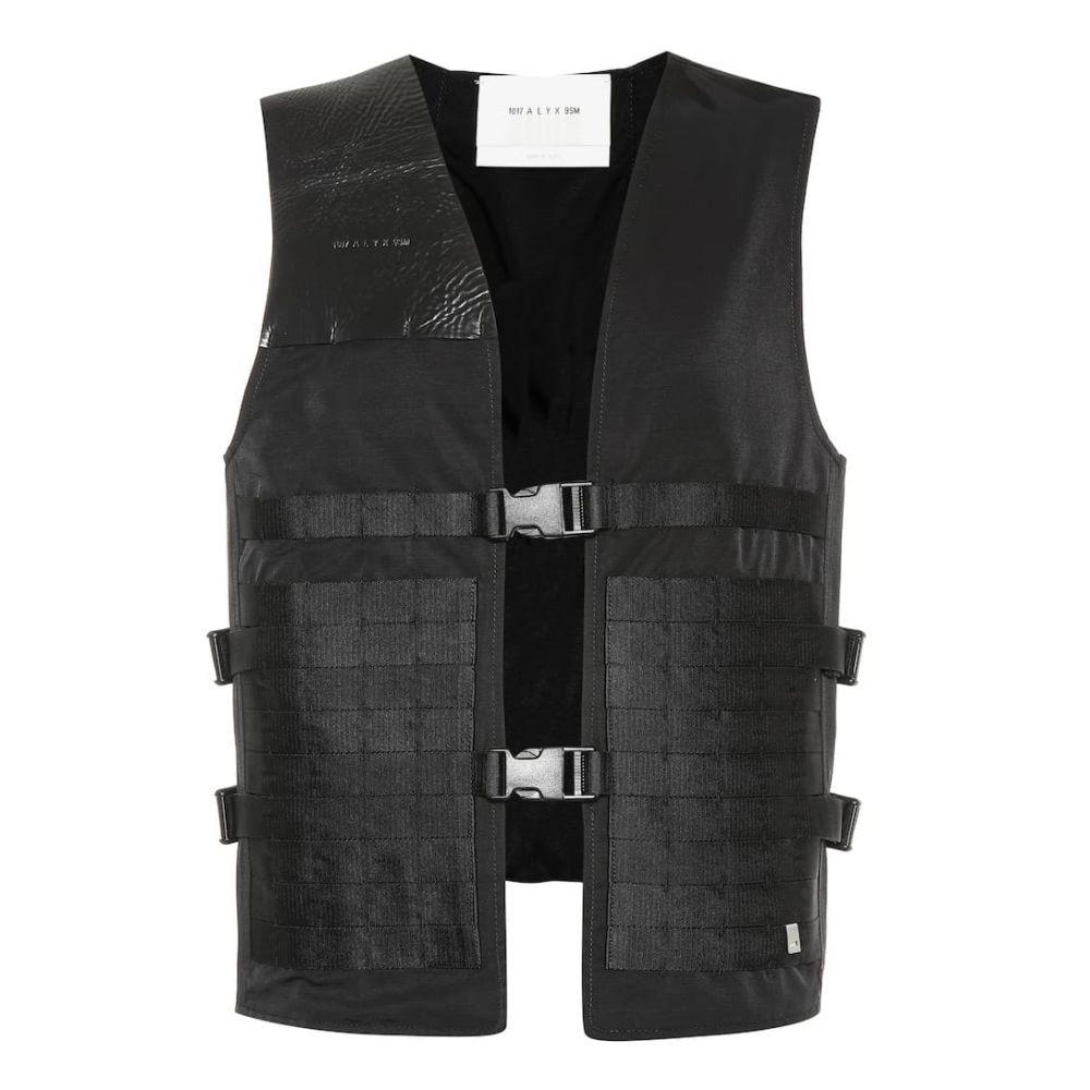 アリクス 1017 ALYX 9SM レディース トップス ベスト・ジレ【Trooper cotton-blend vest】black