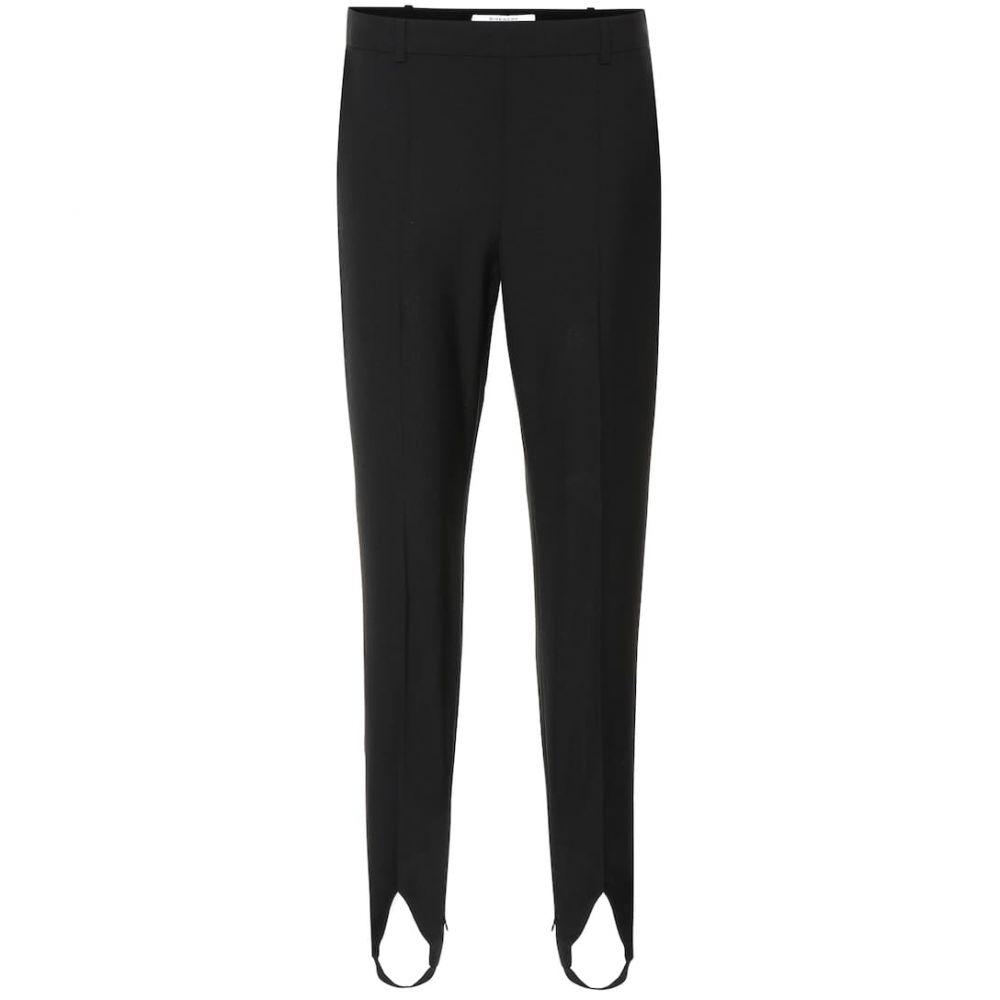 ジバンシー Givenchy レディース ボトムス・パンツ【Wool stirrup pants】Black