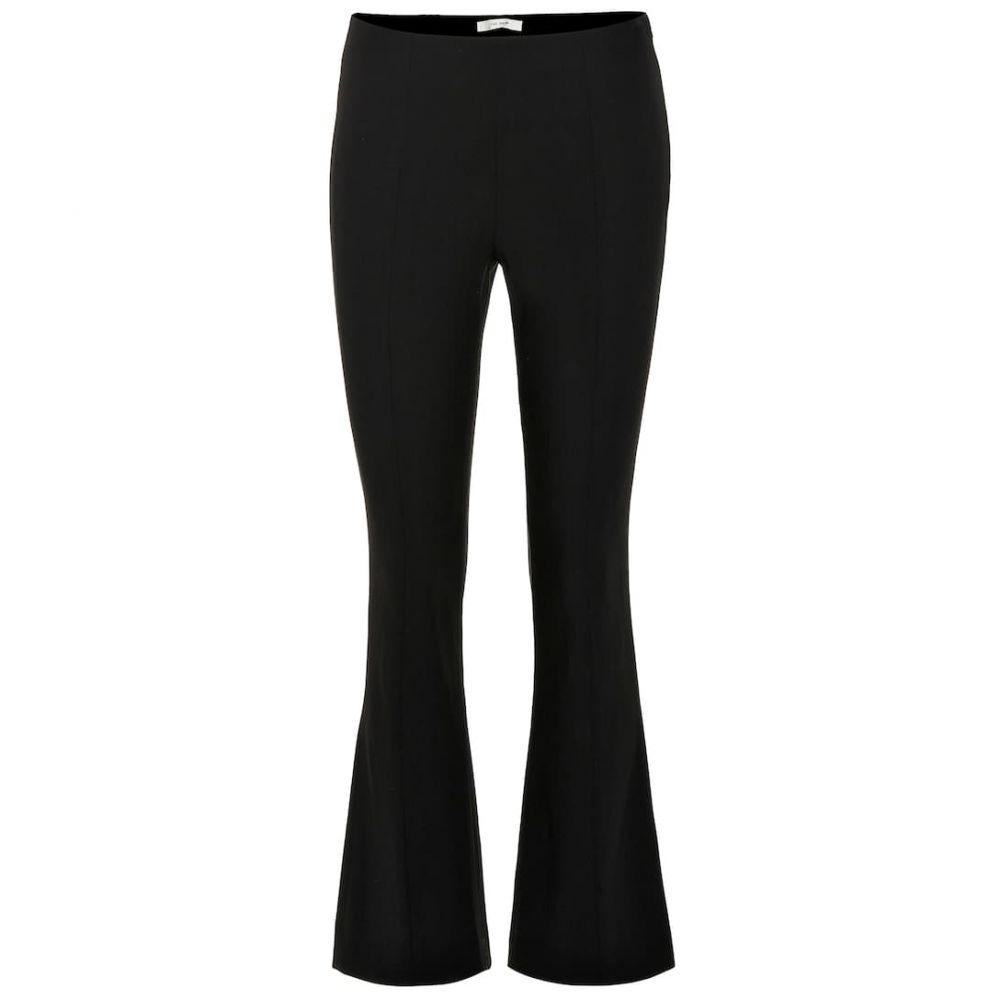 ザ ロウ The Row レディース ボトムス・パンツ【Beca wool-blend flared pants】Black